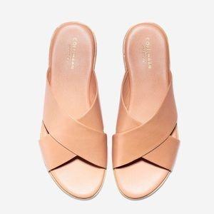 Anica Criss Cross Sahara Sandal Leather Sz 10
